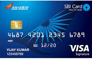Apply Air India Signature SBI Card