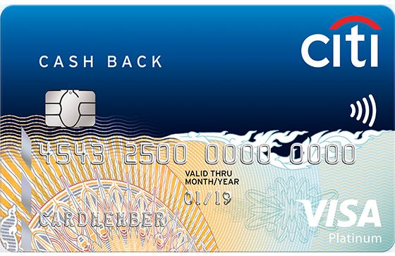 Citi Bank Cashback Credit Cards