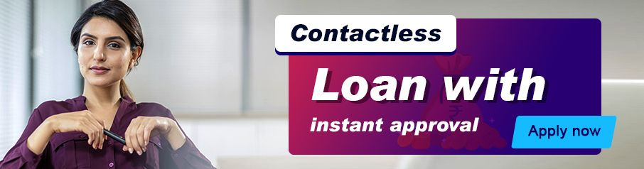 Contactless Emergency Loan with instant approval