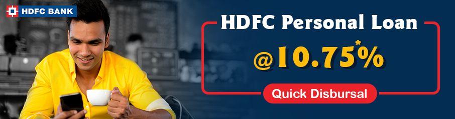 HDFC Personal Loan Apply Online