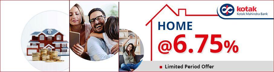 Lowest Home Loan Interest Rates on Kotak Mahindra Bank