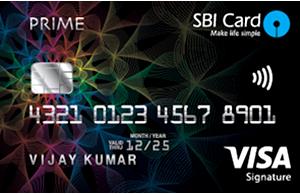 Apply SBI Card Prime