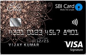 SBI Signature Credit Card (Elite)