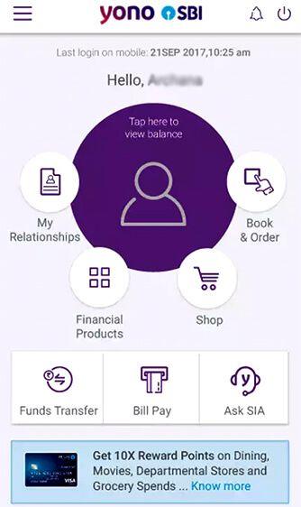 YONO SBI App
